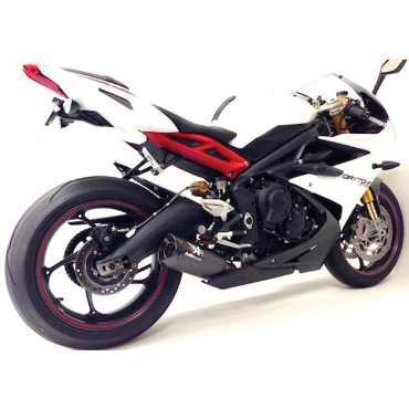13-18 DAYTONA 675 ONWARDS GP3 V3 SLIP ON